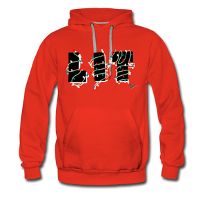 Lit Chic Luxe Hoodie - red