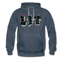 Load image into Gallery viewer, Lit Chic Luxe Hoodie - heather denim