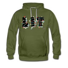 Load image into Gallery viewer, Lit Chic Luxe Hoodie - olive green