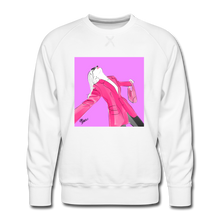 Load image into Gallery viewer, Send It Chic Sweatshirt - white