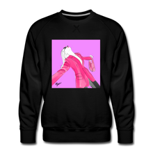Load image into Gallery viewer, Send It Chic Sweatshirt - black