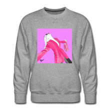 Load image into Gallery viewer, Send It Chic Sweatshirt - heather gray
