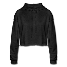Load image into Gallery viewer, Chic Women's Cropped Hoodie - deep heather