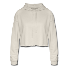 Load image into Gallery viewer, Chic Women's Cropped Hoodie - dust