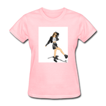Load image into Gallery viewer, Shadow Crewneck T-shirt - pink
