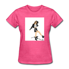 Load image into Gallery viewer, Shadow Crewneck T-shirt - heather pink