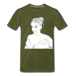 Men's Happy Hour T-Shirt - olive green