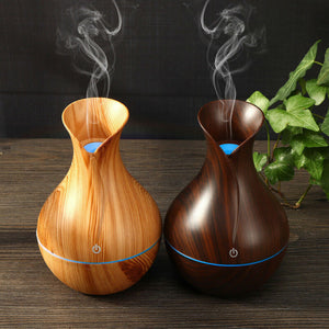 LED Ultrasonic Aroma Humidifier Essential Oil Diffuser