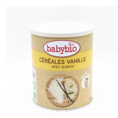 Babybio Cereale Vanille 6 Mois