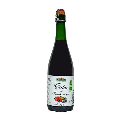 Cidre Fruits Rouges 75cl Coteaux Nantais