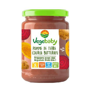 Vegebaby Pot Pdt Courge 190 G