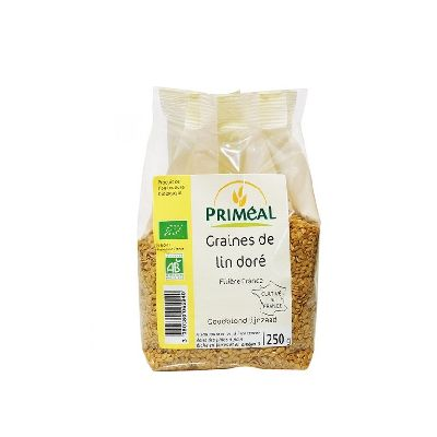 Graines Lin Dore 250g Primeal