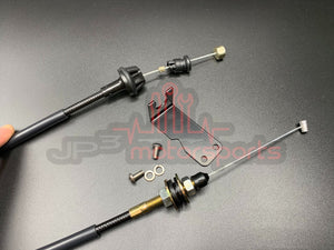 Mazda RX7 FD3S 13B-REW Shorty Throttle Cable Kit