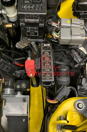 Mazda RX7 FD3S Battery Fuse Block Bracket (relocated batteries)