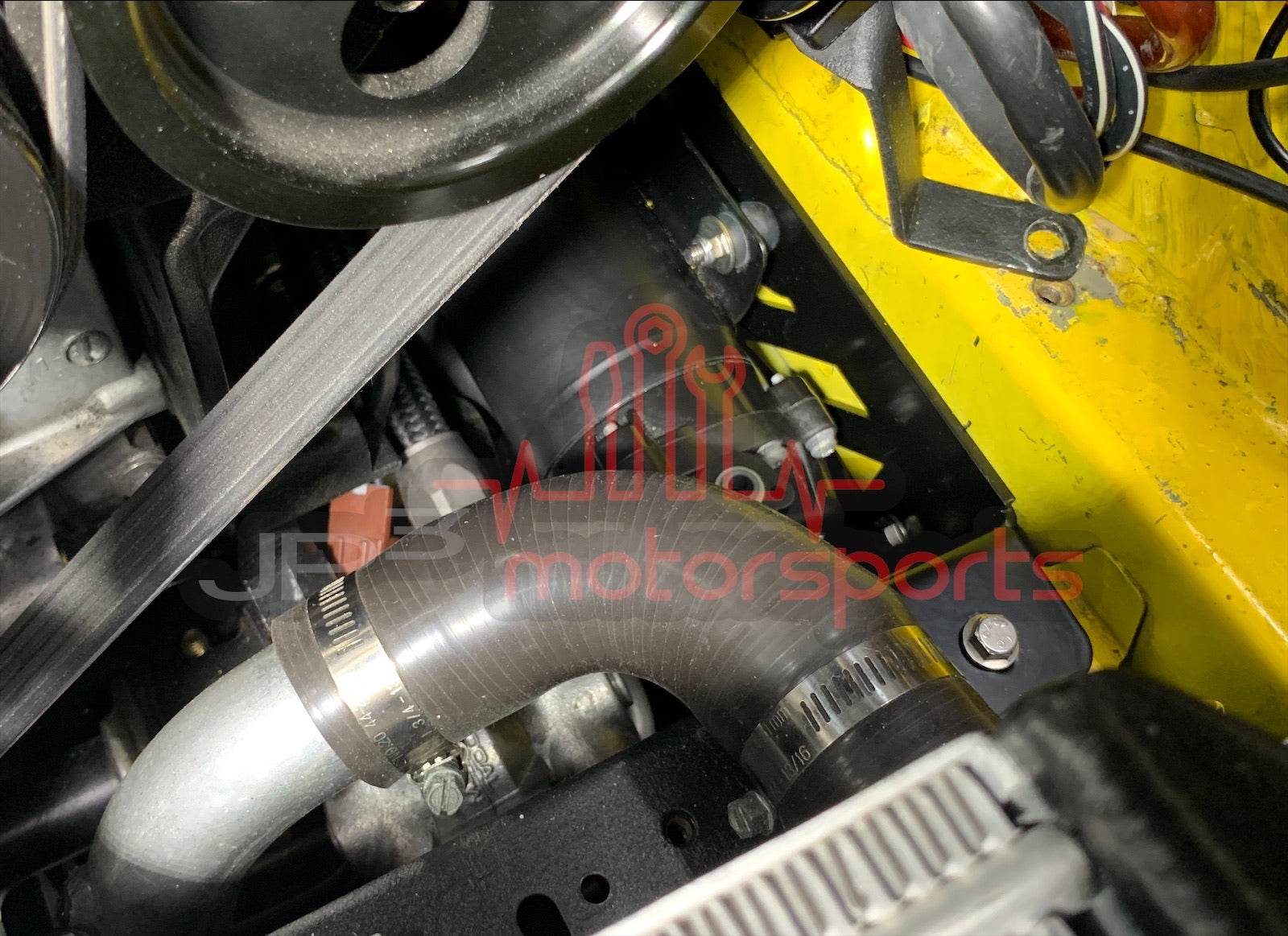 Mazda RX7 FD3S Water Meth Pump Bracket Kit (Engine Bay)