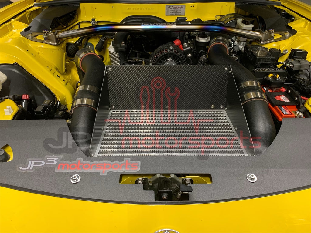 Mazda RX7 FD3S Greddy Vmount Intercooler Duct (Carbon)