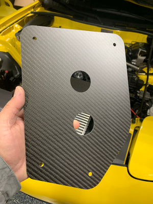 Mazda RX7 FD3S Fuel Tank Access Cover
