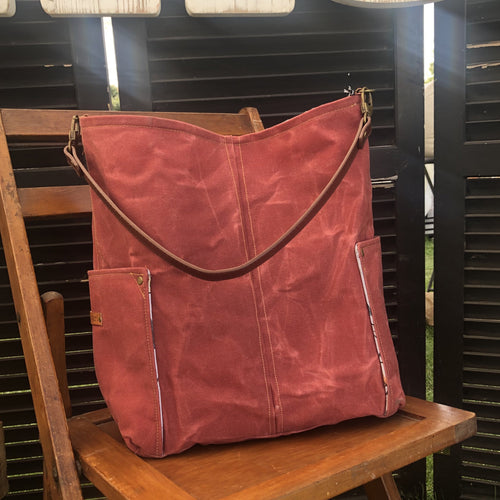 Sedona Clay Compass Large Tote