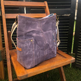 French Lavender Compass Crossbody
