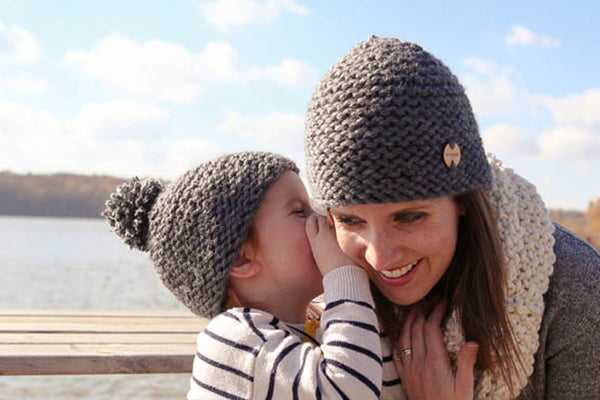 Mommy & Me Knit Hats