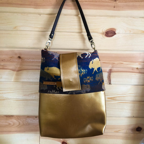 Simple Gold Totes