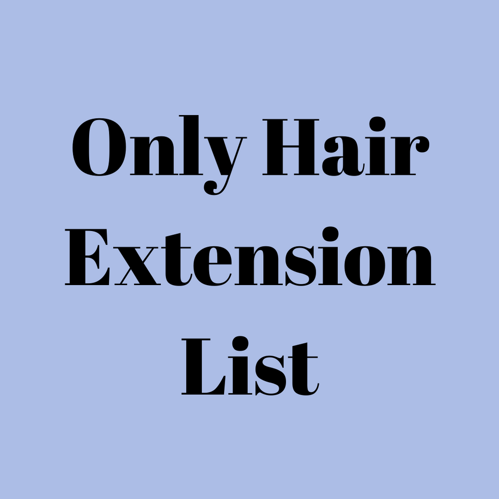 Only Hair Extension Vendors List