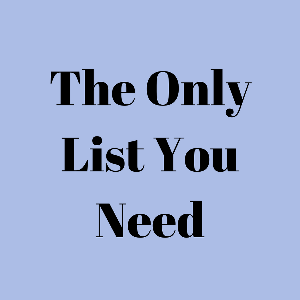 The Only Vendors List You'll need