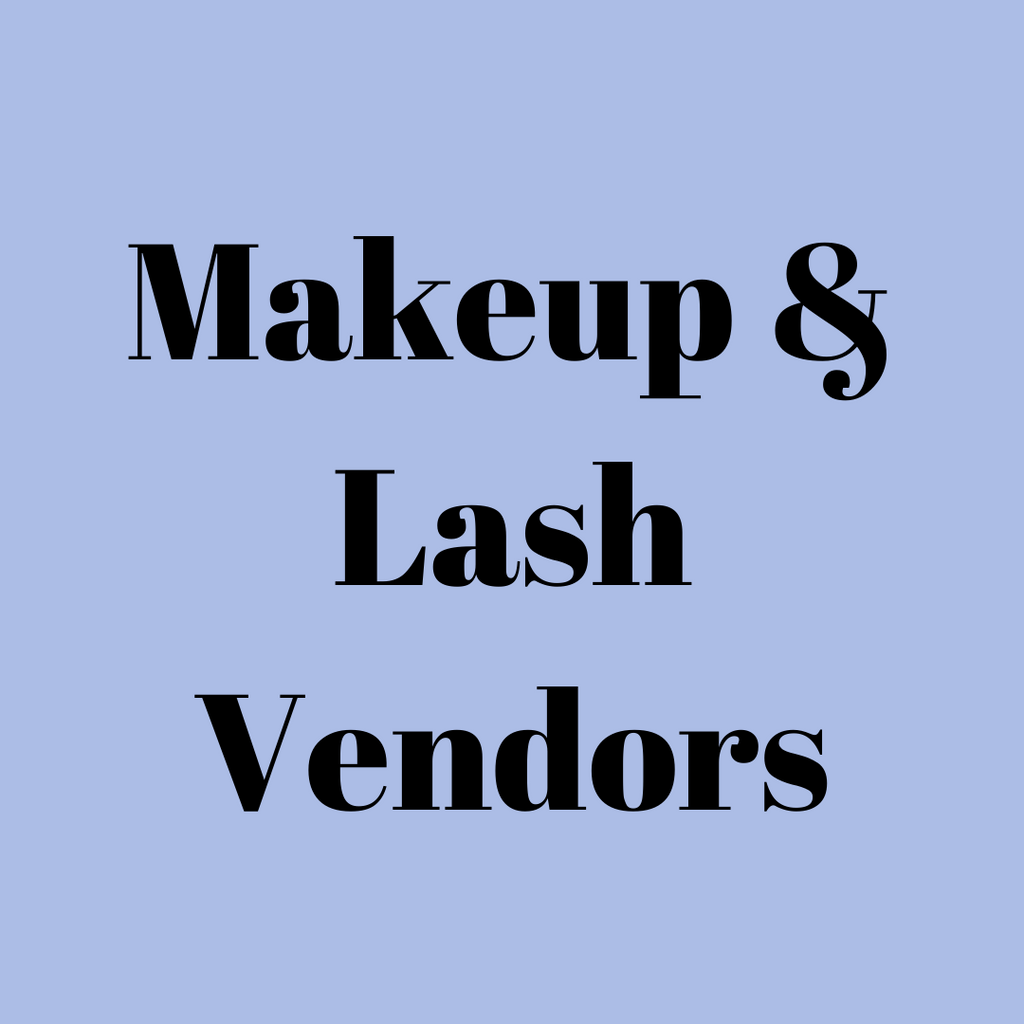 Makeup & Lash Vendors