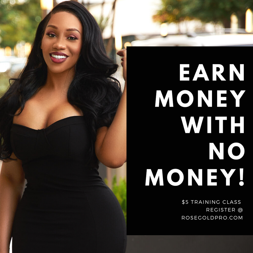 The Master Class: $5 How to Make Money with NO Money Class