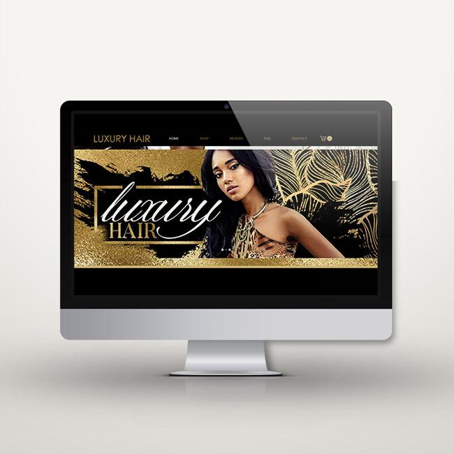 WIX Glamour Website $499 + $99 one time set up fee
