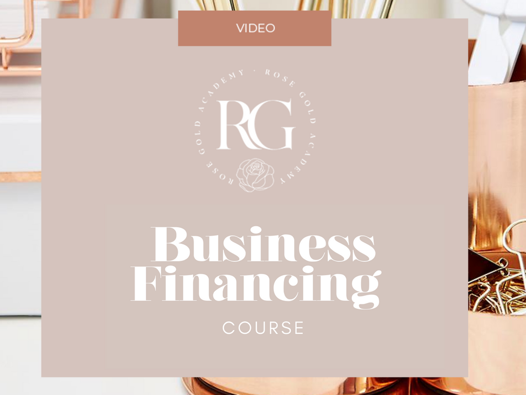 Business Financing Course