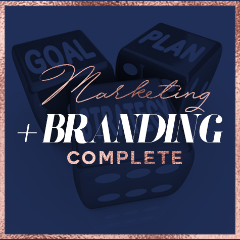 Marketing & Branding Plan Complete +