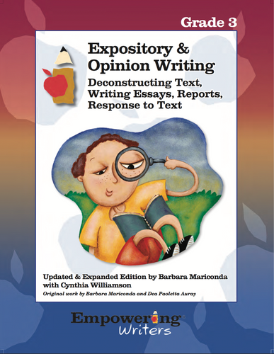 Expository & Opinion Writing Grade 3