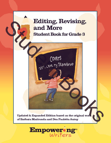 Grade 3 Editing, Revising, & More Student Books (Set of 25)