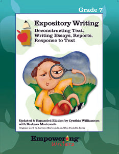 Grade 7 Informational/Expository Writing Guide (printed) - Canada