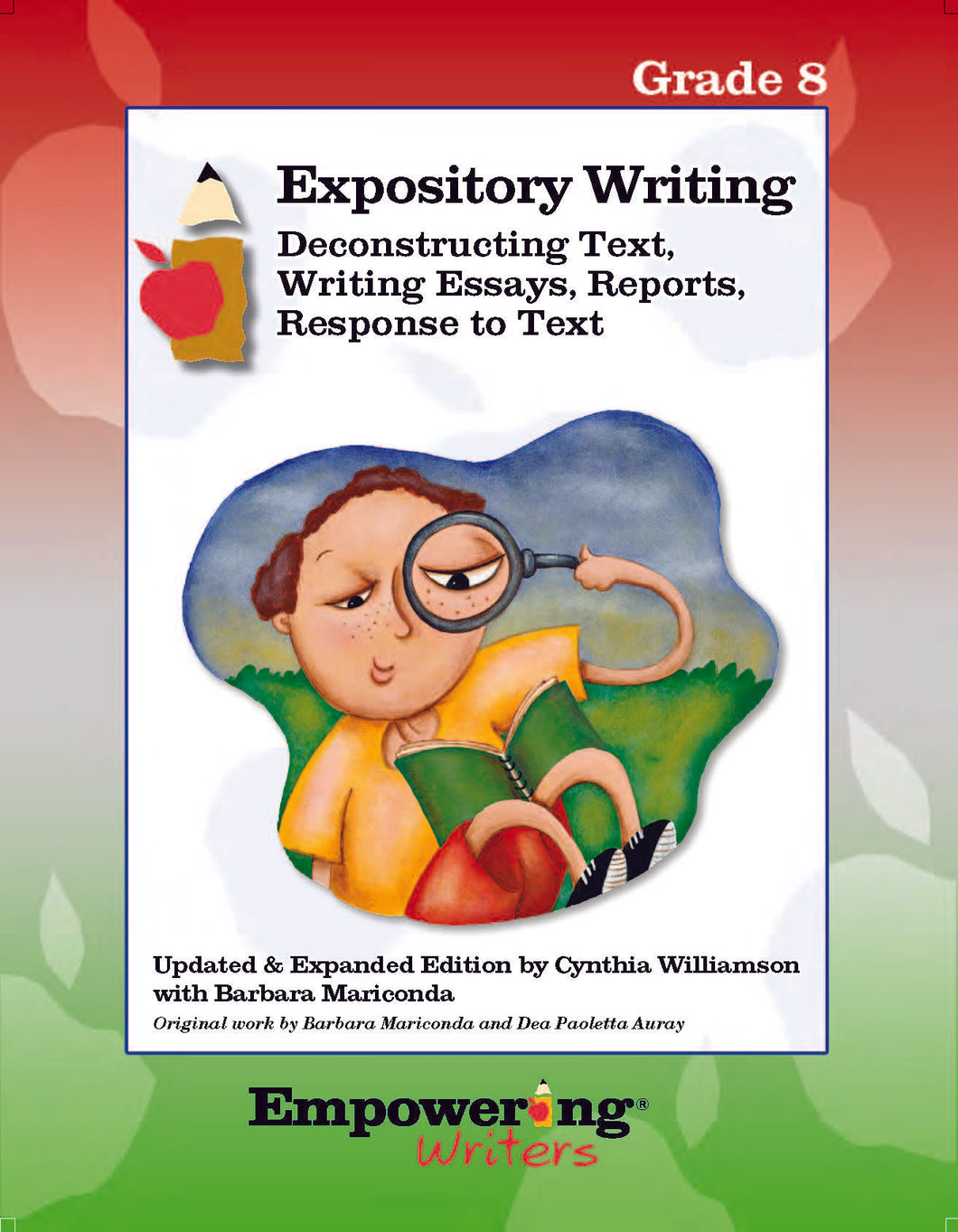 Grade 8 Informational/Expository Writing Guide (printed)