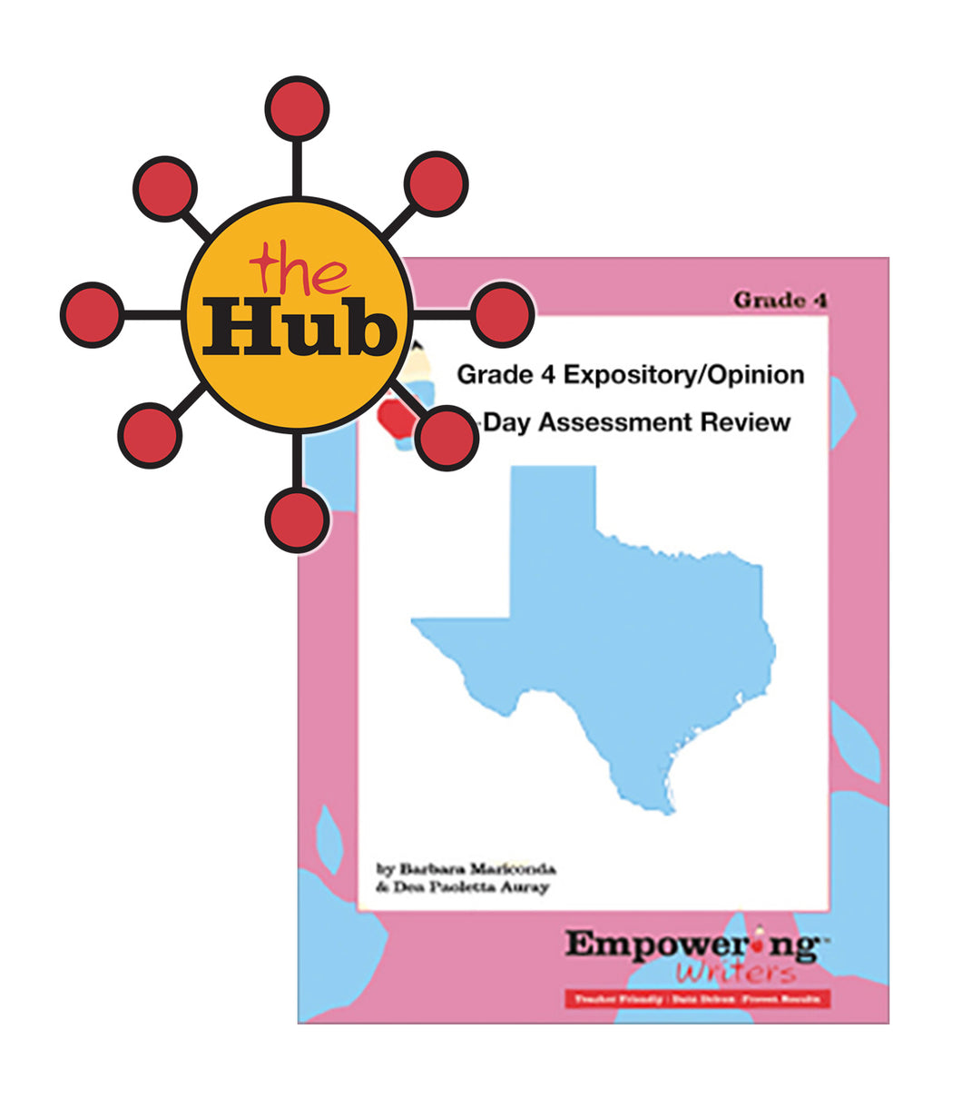 The Hub - Grade 4 Texas Expository/Opinion Assessment Review