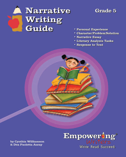 Grade 5 Narrative Writing Guide - Canada (printed)