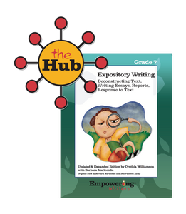 The Hub: Grade 7 Informational/Expository Writing