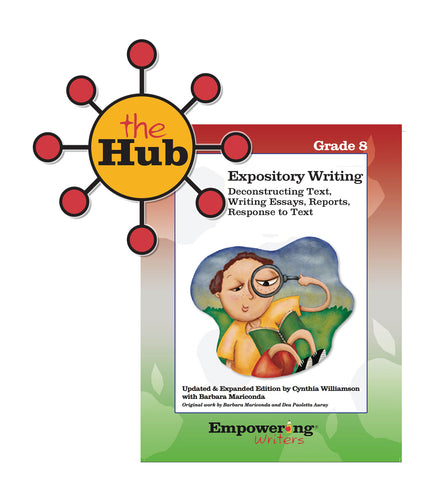 The Hub: Grade 8 Informational/Expository Writing