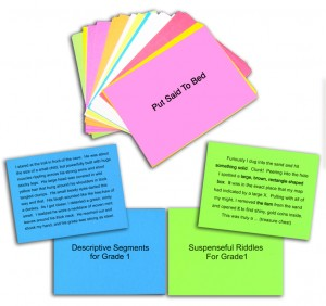 K-1 Activity Cards (English)