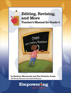 Grade 4 Editing, Revising, & More Teacher's Manual Only (printed)