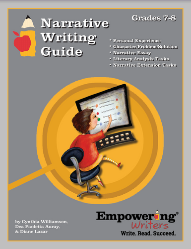 Grades 7/8 Narrative Writing Guide - Canada (printed)