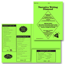 Spanish Narrative Student Writing Folders (Set of 25)