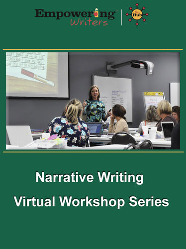 Previously Recorded Narrative Workshop with HUB guide subscription