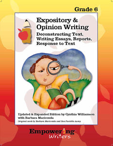 Grade 5 Informational/Expository & Opinion Writing Guide (printed) - Canada