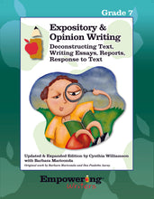 Load image into Gallery viewer, Grade 5 Informational/Expository & Opinion Writing Guide (printed)