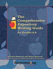 Load image into Gallery viewer, Comprehensive Expository Writing Guide for Grades 6-8