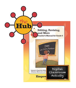 The HUB - Grade 3 - Editing, Revising, & More Digital Guide with Interactive Student Pages