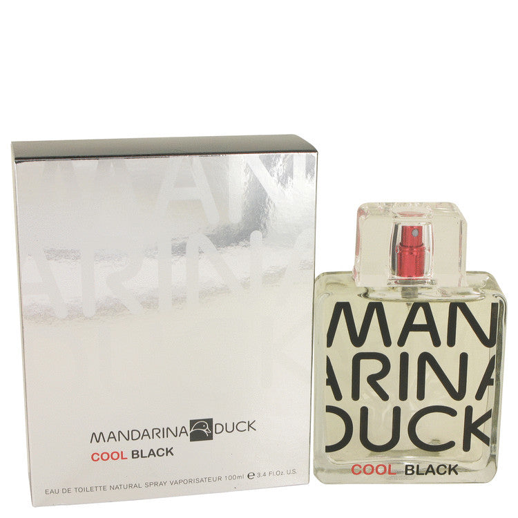 Mandarina Duck Cool Black by Mandarina Duck Eau De Toilette Spray 3.4 oz (Men)